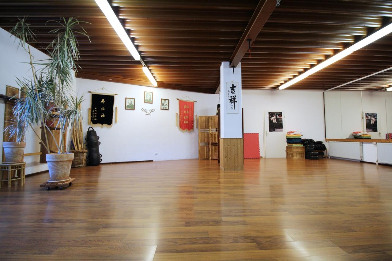 Die Räumlichkeit der WingTsun-Schule Karlsruhe